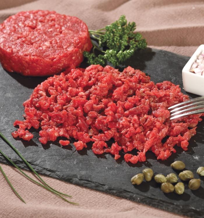 Steak Haché couteaux