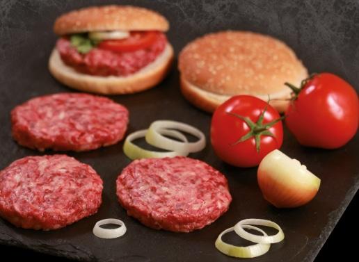 Sauvage Viandes hamburger tomate ognion