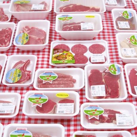 sauvage viandes sous atmosphère protectrice
